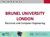 Course Presentation: Electronic & Computer Engineering