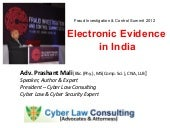 Electronic Evidence   fraud conference