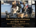 Elements of Social Software and Social Search