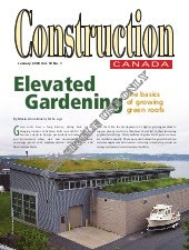 Construction of an Elevated Garden ...