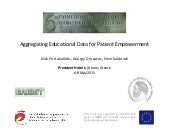 Aggregating Educational Data for Patient Empowerment