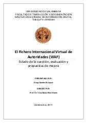 El fichero internacional virtual de...
