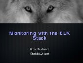 Monitoring with ElasticSearch