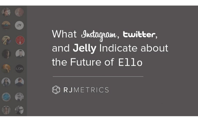 What Instagram, Twitter, and Jelly Indicate About the Future of Ello
