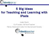 5 Big Ideas for Teaching and Learni...