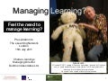 eLearning Network - Managing Learning