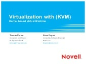 Virtualization with KVM (Kernel-based Virtual Machine)