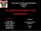 El sector externo y los sindicatos ...