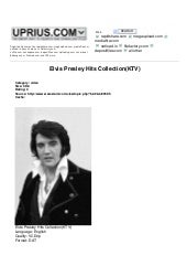Elvis Presley Hits Collection(Ktv)