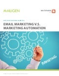 Email Marketing vs. Marketing Automation