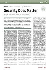 Eclipse Magazin 12 - Security does ...