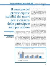 Private Equity e LBO 2012- Italia