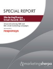 SPECIAL REPORT MarketingSherpa Emai...