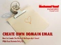 Create Own Domain Email with Gmail
