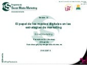 #ExpRedesUs: E-mail marketing 2012-...
