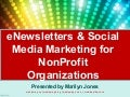 eMail + Social Media Marketing for NonProfit Organizations