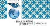 Email Writing Netiquette
