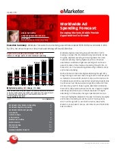 eMarketer Worldwide Ad Spending For...