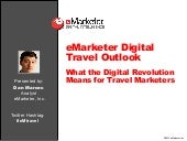 eMarketer Webinar: Digital Travel O...
