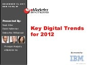 eMarketer Webinar: Key Digital Tren...