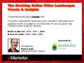 eMarketer Webinar: The Evolving Online Video Landscape