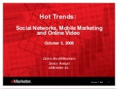 E Marketer Webinar Hot Trends 10 3 08