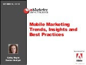 eMarketer Webinar: Mobile Marketing...