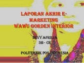 E Marketing Wawu Gorden