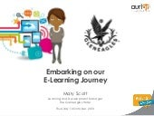Embarking on our E-Learning Journey...
