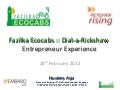 EMBARQ India Rickshaw Rising Workshop -   fazilka ecocabs world's first dial-a-rickshaw service