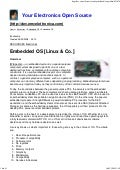 Embedded Os [Linux & Co.]