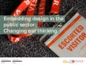 Embedding design changing thinking-...