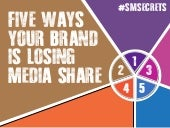 Blogs Have Changed: 5 Ways Your Brand is Losing Media Share