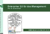 Enterprise 2.0 für das Management