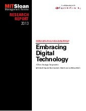 Embracing digital technology, a new...