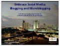 Embrace Social Media: Blogging & Microblogging