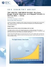 Analyst Report: The Digital Universe in 2020 - China