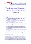Emerging Economy February 2009 - Indicus Analytics