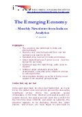Emerging Economy April 2009 Indicus Analytics