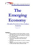 Emerging Economy January 2010 Indicus