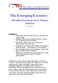 The Emerging Economy - October, 2009