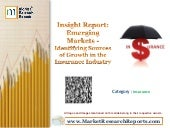 Emerging Markets - Identifying Sources of Growth in the Insurance Industry