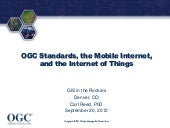 2012 Emerging Tech, OGC Standards, ...