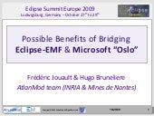 Possible Benefits of Bridging Eclip...
