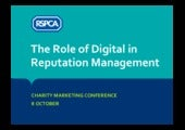 Charity Marketing Conference - Emily Munford - Digital Reputation Management