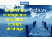 Emotional intelligence and blue ocean strategy