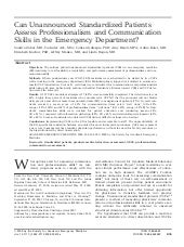 EMPACT: Emergency Medicine Professi...