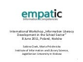 EMPATIC - International  Workshop: ...