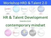 Workshop HRD & Talent Development t...