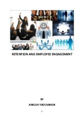 Retention And Employee Engagement